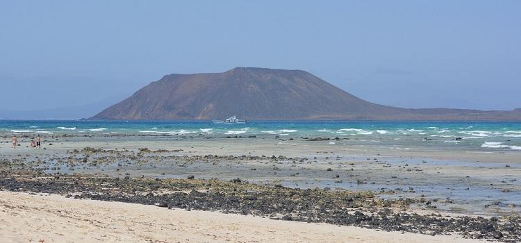 Plaża na wyspie Fuerteventura