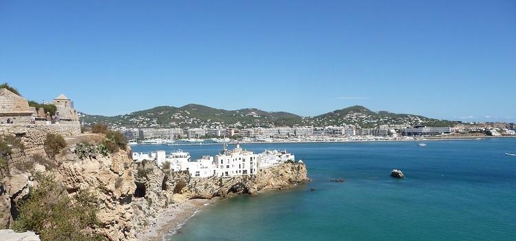 Wyspa Ibiza w Hiszpanii